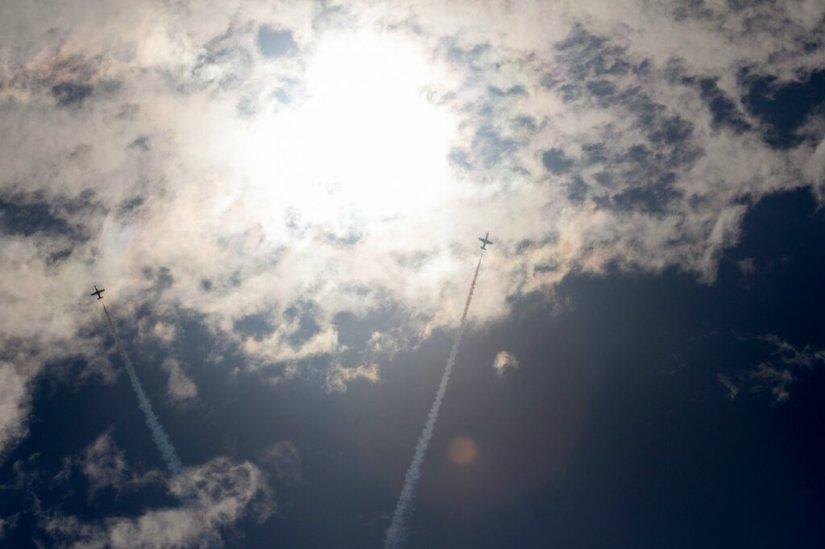 Самолеты в небе, МАКС-2015