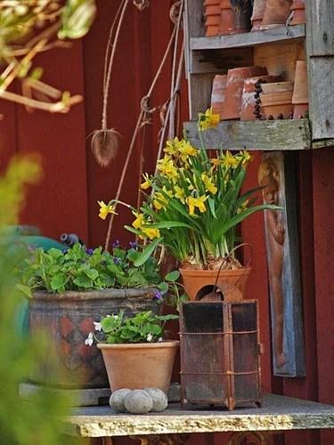 садовый декор дизайн в саду