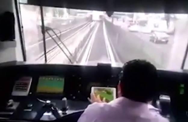 Машинист поезда играл на iPad во время движения