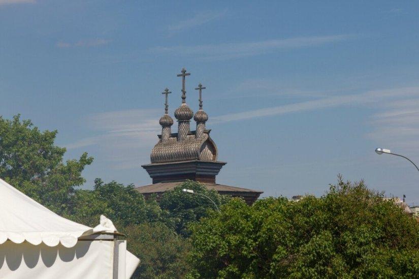 Деревянный храм Георгия Победоносца в Коломенском