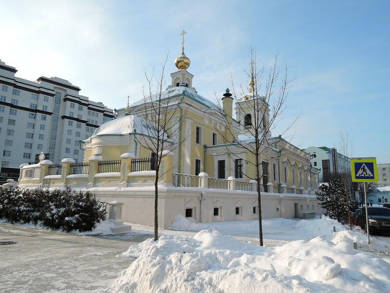 Храм Преображения Господня на Преображенке, Москва