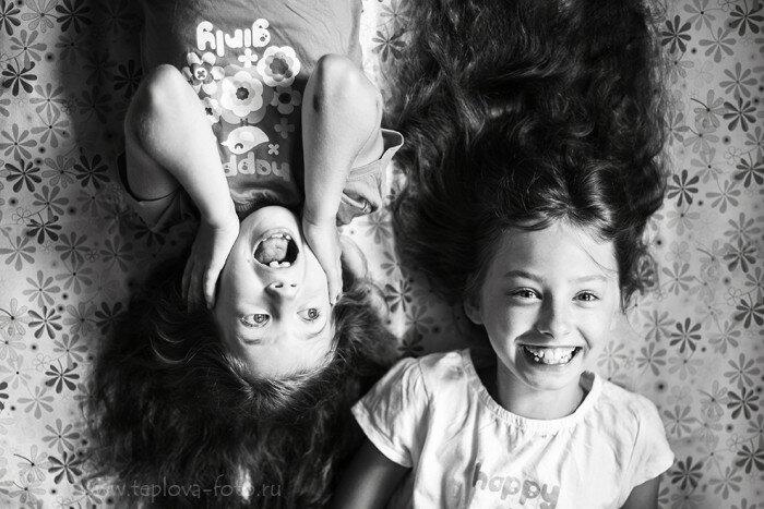 Две родные кровинушки. Автор фотографии: Алёна Теплова.