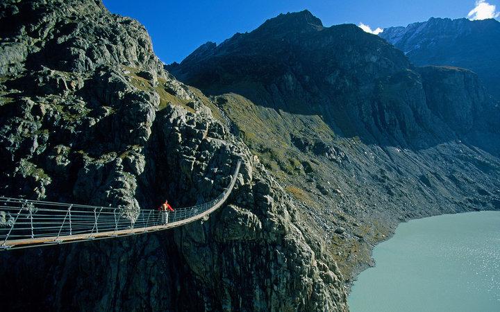 Мост Трифт, Швейцария.