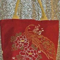Роспись на сумке и идеи дизайна