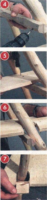 этажерка для дачи своими руками