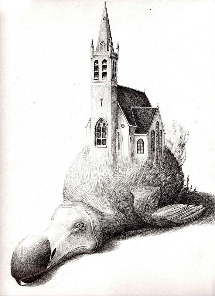 Нидерландское-иррациональное. Иллюстратор ©Redmer Hoekstra