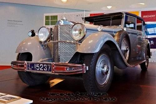 Автомобильный музей марки Mercedes-Benz. Часть 2