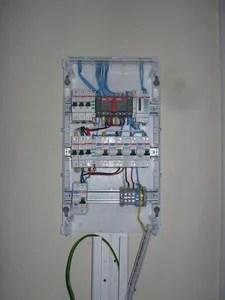 Электрический щиток в хозблоке