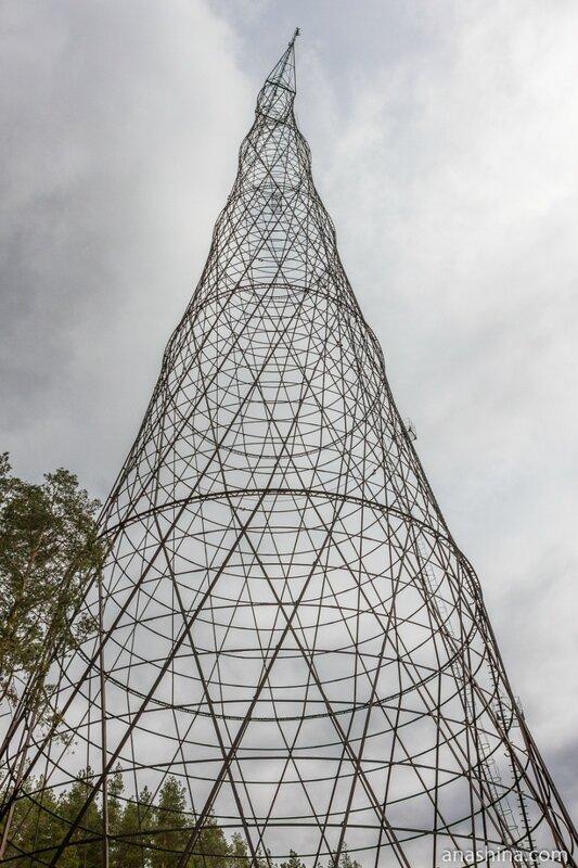 Башня Шухова на Оке, Нижегородская область