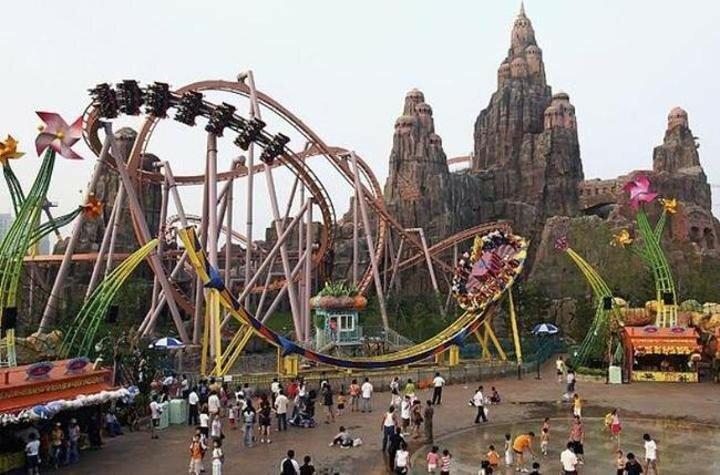 Счастливая Долина: Известные китайские парки развлечений