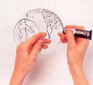 мастер-класс по витражной росписи