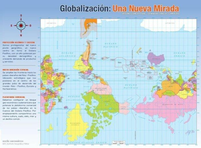 Удивительно: как рисуют карту мира в разных странах (11 фото)