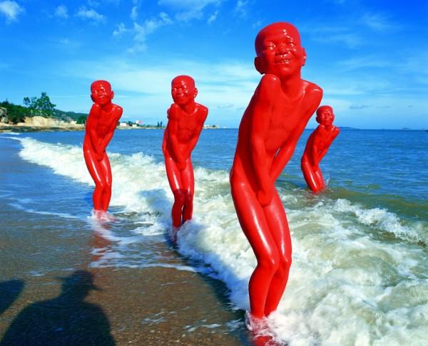 Скульптурная серия «Красная память» от Чена Вен Линга / Chen Wen Ling. Восточный сюр