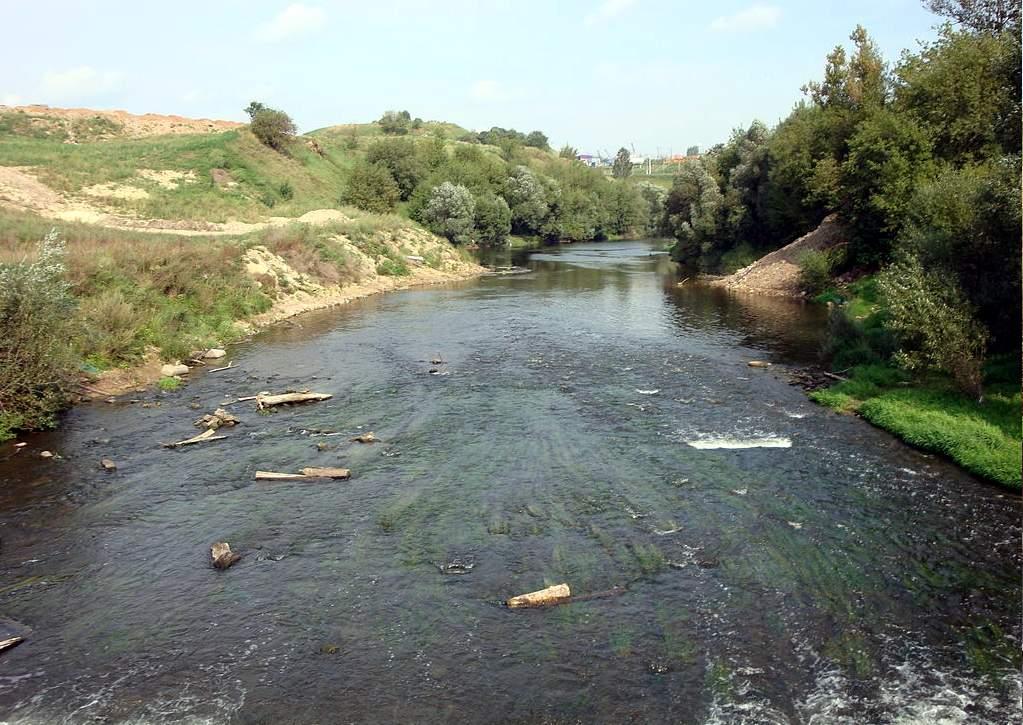 Река Пахра - раздолье для рыбака