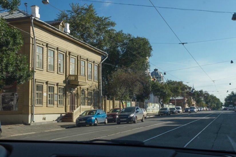 Одна из улиц Самары