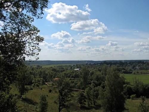 Вид со смотровой площадки возле Саввино-Сторожевского монастыря