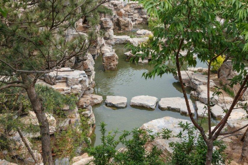 Скала, парк-выставка садов, Прекрасная долина