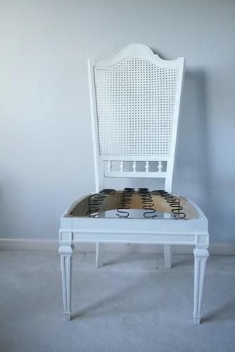 мастер-класс реставрация стула