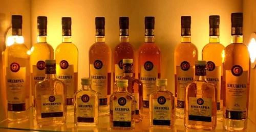 водки торговой марки Кизлярка