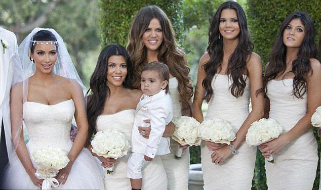 Сказочная свадьба Ким Кардашян