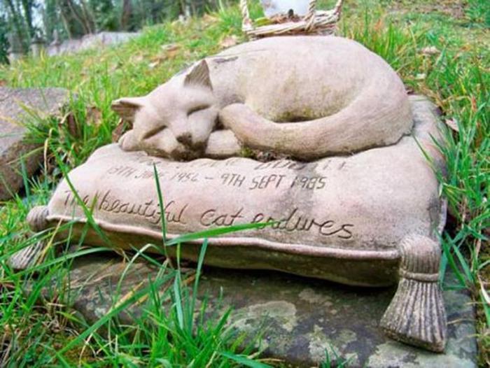 Могилы с QR кодом на кладбищах в Европе
