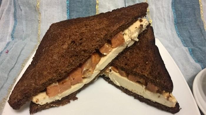 Сэндвичи с маринованным тофу