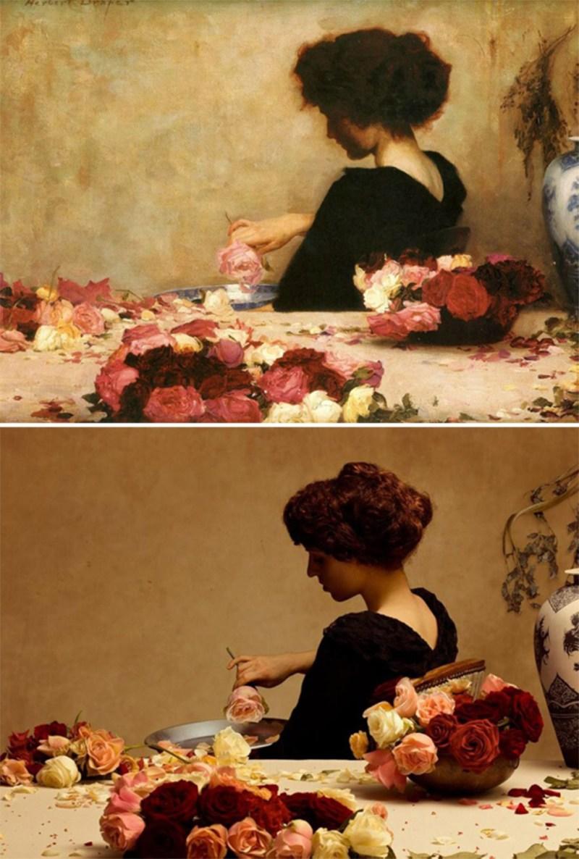 «Попурри», Герберт Джеймс Дрейпер, 1897 год.