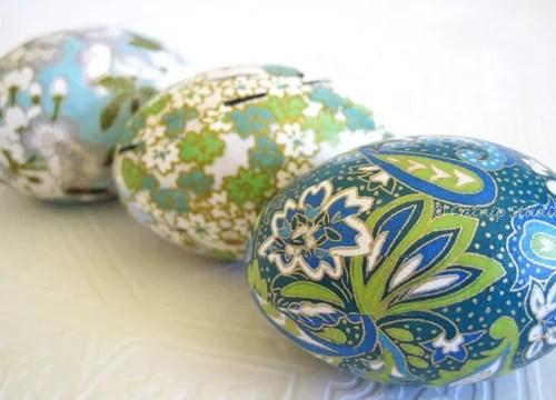 пасхальные яйца салатовых оттенков