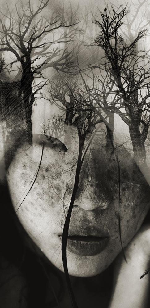 "Antonio Mora / Антонио Мора  и его коллажи-слияния ""Dreamfaces"""