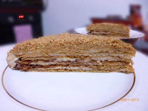 ballı cevizli pasta