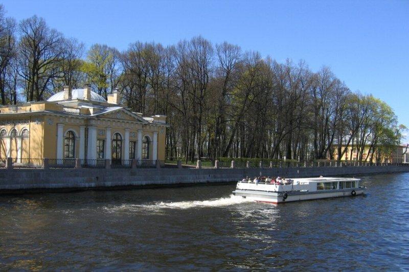 Летний сад, Кофейный домик и Летний дворец Петра I