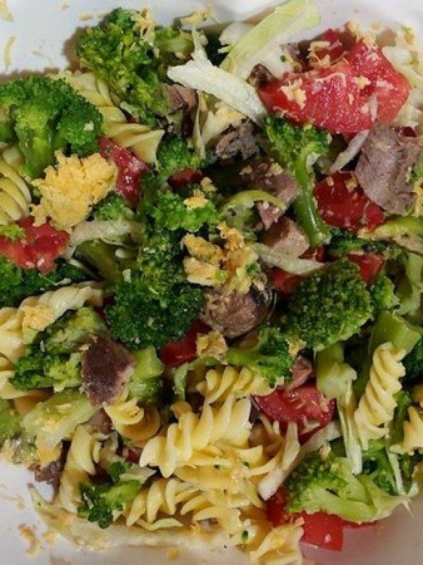 makarna salatası 2