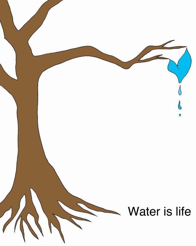 """""""Water is Lifе"""" - лучшие постеры, посвящённые воде, которая есть жизнь"""