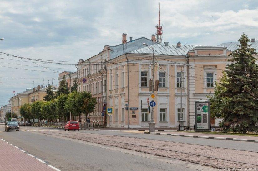 Советская улица, площадь Ленина, Тверь