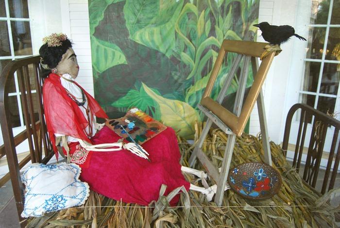 Хэллоуин-2010 в музее Флоренс Грисуолд