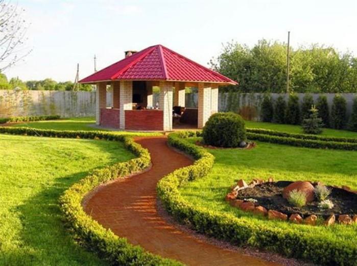 Оформление газонов на дачном участке