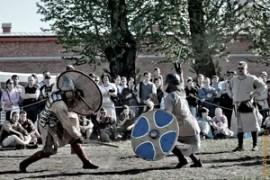 Фестиваль «Легенды норвежских викингов» день 1, Петропавловская крепость, площадка Кронверк, фестиваль-оpen air, Прогулки по Санкт-Петербургу, лето 2012 года