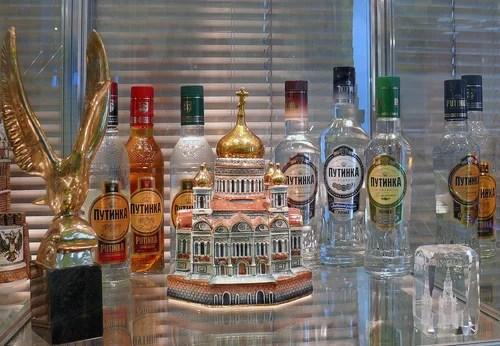 водка Путинка на продэкспо 2012 Москва