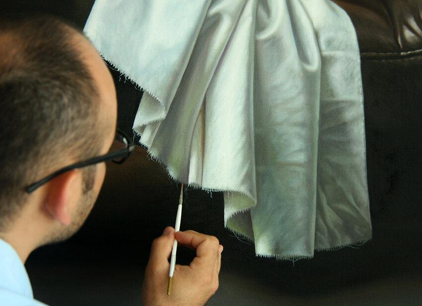 Невероятные картины Омара Ортиза в стиле гиперреализма (4/6)