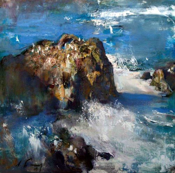 nikolai blokhin. landscape painting