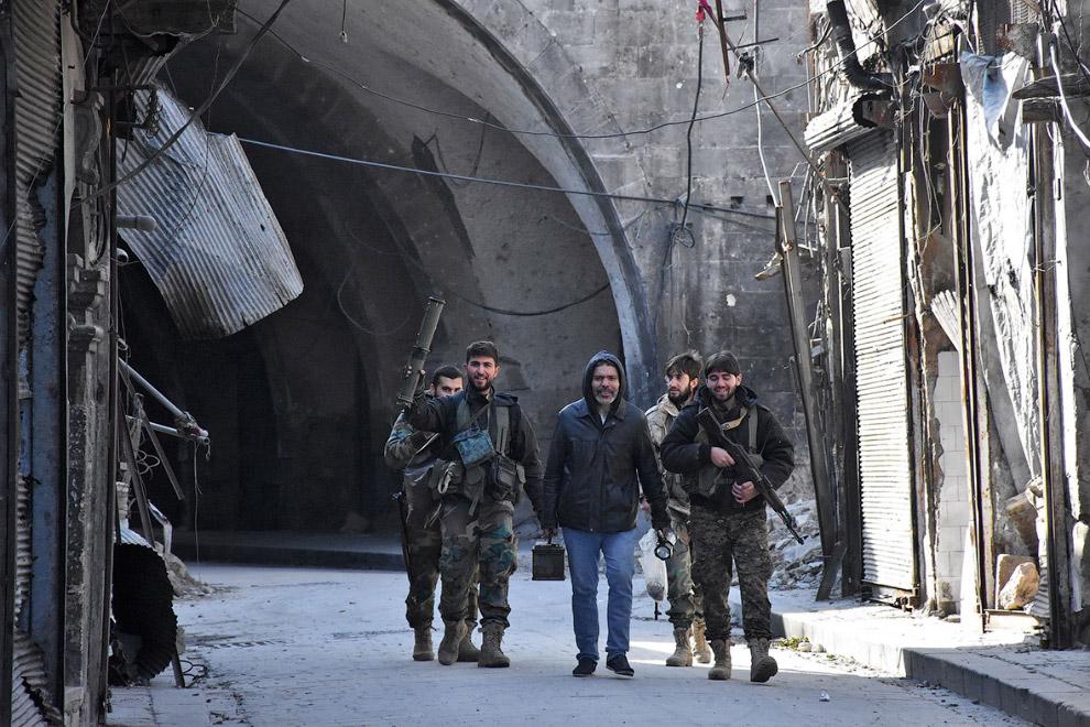 17. Алеппо. Наши дни. (Фото George Ourfalian):