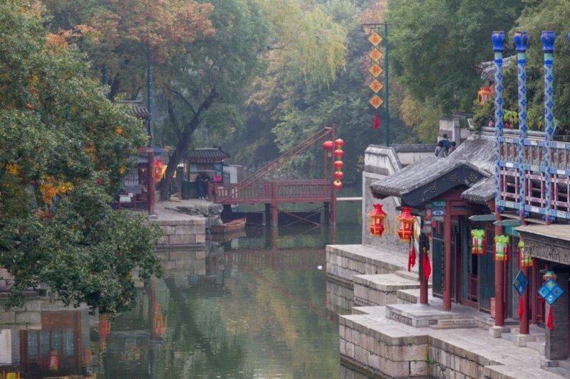 улица Сучжоу, парк Ихэюань, Летний императорский дворец, Пекин