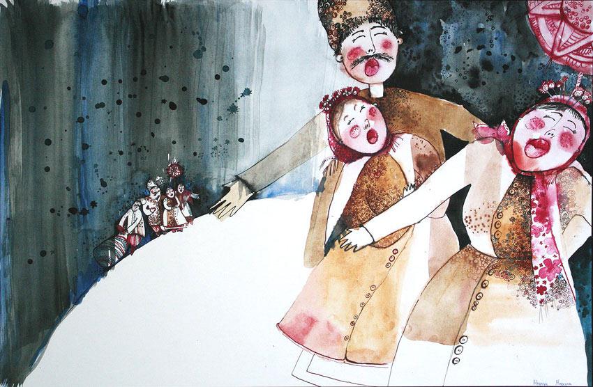 Лучшие работы конкурса ILLUSTRATION 2012. Днепропетровск, Украина