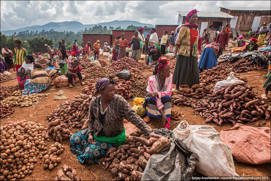 Chencha market | / Market Cenci
