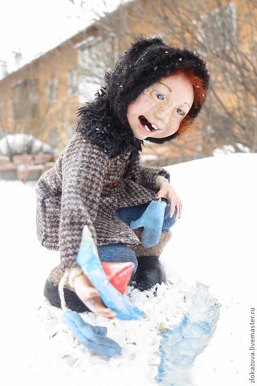 Ожившие детские фотографии. Куклы Елены Злоказовой