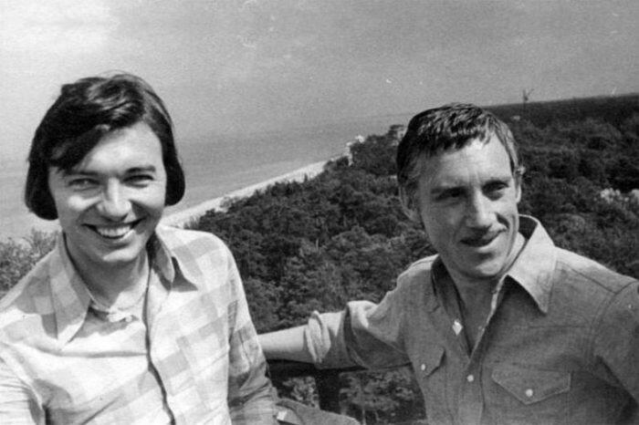 Карел Готт и Владимир Высоцкий