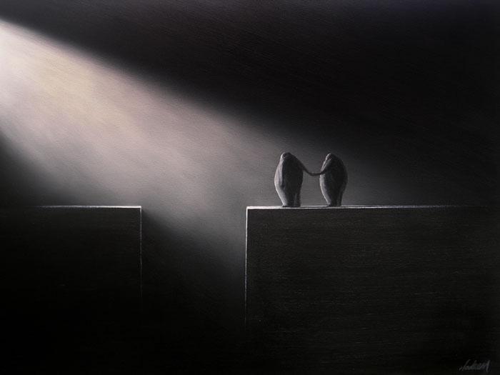 Британо-пакистанский минимализм в работах Nadeem Chughtai. 32 картины