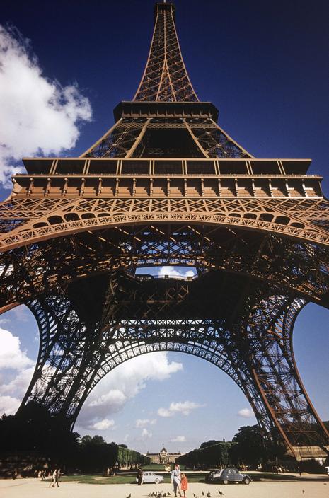 Фотограф George Rodger. Париж. 61-й год. Небольшой фотосет