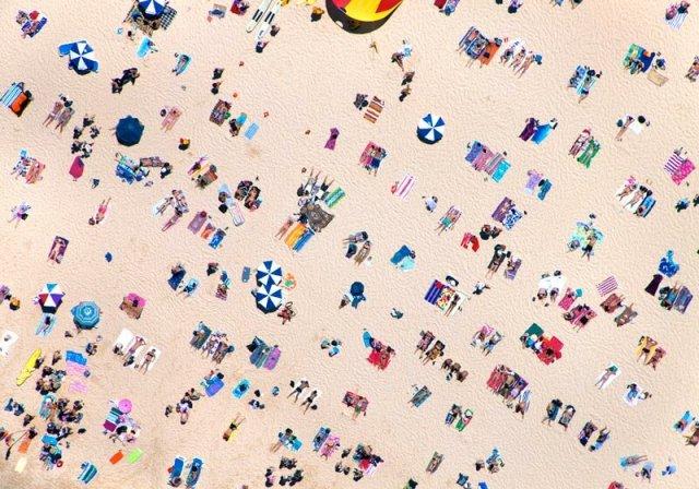 Мировые пляжи с высоты птичьего полета