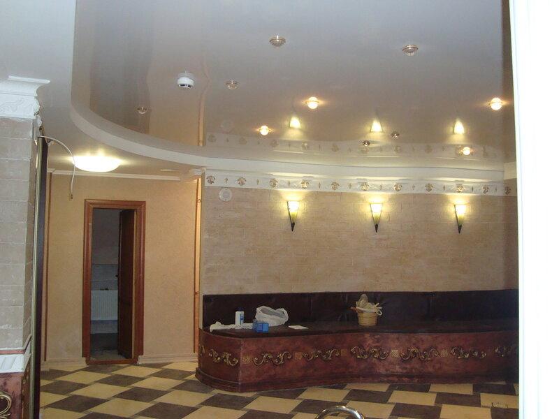 потолок на рецепшене, рязань